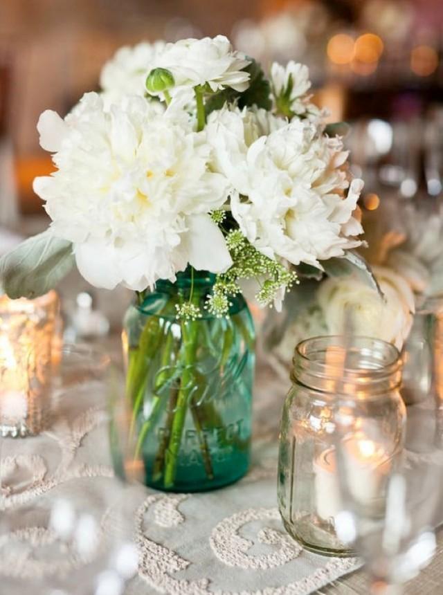 Mason Jar Ideas For Weddings Wedding Ideas Wedding Trends And Wedding Galleries 2373438 Weddbook