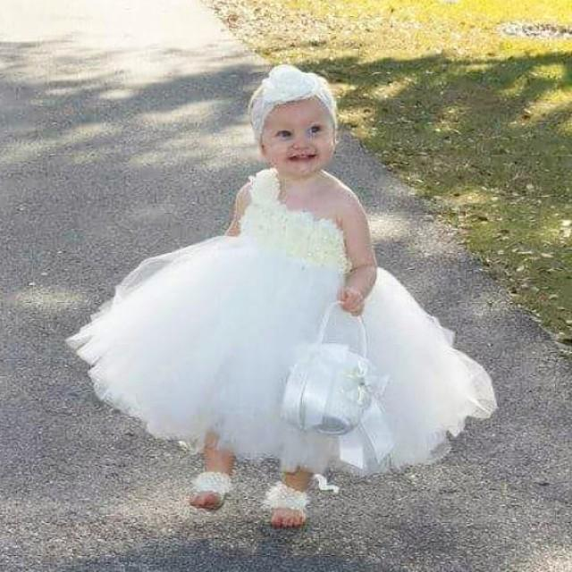 Toddler Child Baby Girl Princess Dress Up Beauty Wedding Tutu Party Dress