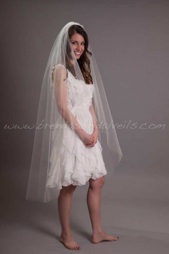 Bridal Veil Wedding Waltz Tulle 52 Single Layer Veils