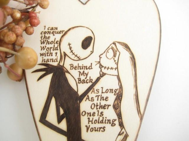 Nightmare Before Christmas Wedding Cake Topper Jack And