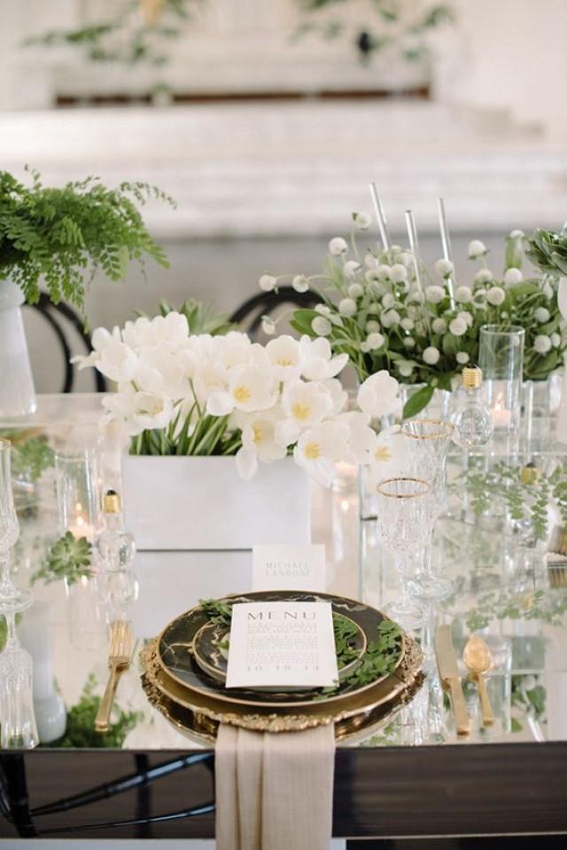 Decor Green And White Wedding Ideas 2380637 Weddbook