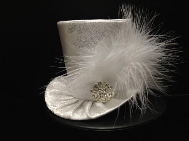 Bachelorette Party Hat Mad Hatter Hat Mini Top Hat Bridal Shower Hat Tea Party Hat Tiny Hat