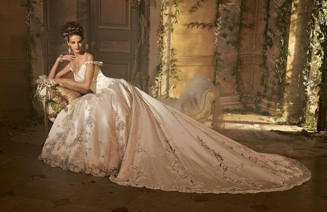 Ball Gown Wedding Dresses Cathedral Train Online With 205