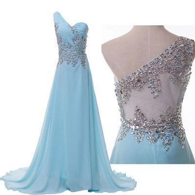 GK Long Prom Dresses BEADED Evening Gown Bridesmaid Dress Party Maxi ...