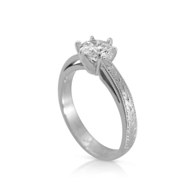 Royal Engagement Ring Diamond Rings For Women Solitaire Engagenet Ring White Gold Ring Unique Engagement Ring Designer Engagement Rings 2395160 Weddbook
