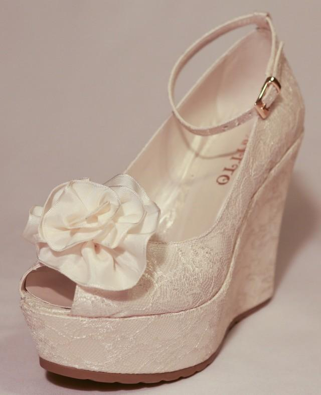 Ch Agne Wedge Weding Shoes 04 - Ch Agne Wedge Weding Shoes