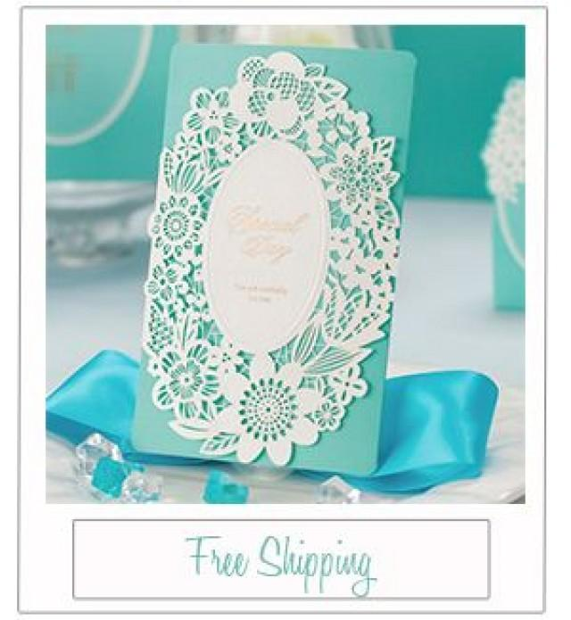 tiffany blue wedding invitations Wedding Decor Ideas
