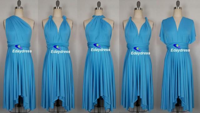 Summer Day Multi Way Bridesmaid Dress Infinity Dress