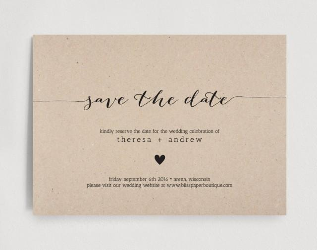 save the date invitation wedding rehearsal editable template rustic pdf instant download. Black Bedroom Furniture Sets. Home Design Ideas