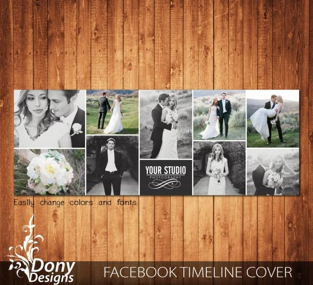 Facebook Cover Po Collage Template Poshop | Wedding Facebook Timeline Cover Template Photo Collage Photoshop