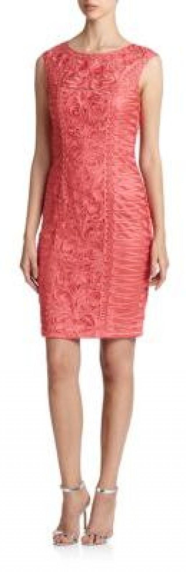 Sue wong soutache cap sleeve sheath dress 2408569 weddbook for Sue wong robes de mariage