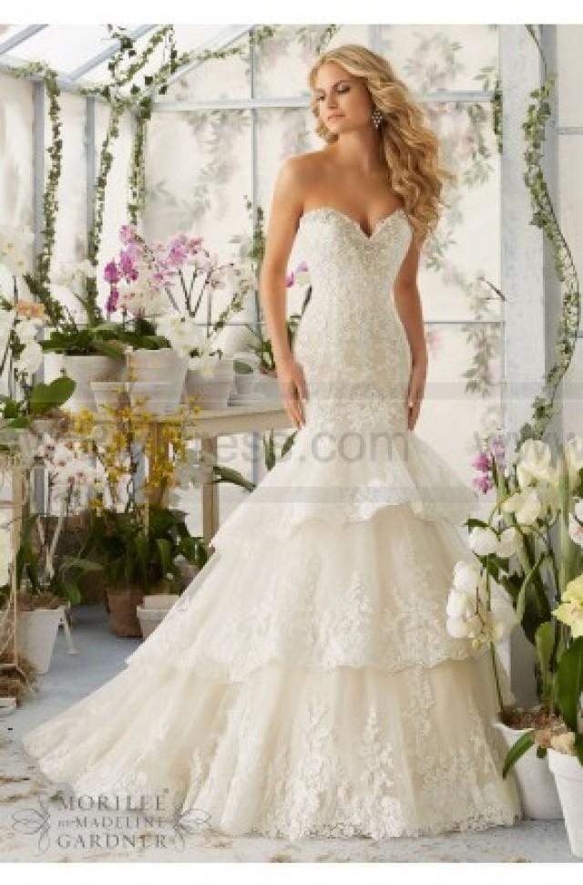 7bd6e2f89f5 Mori Lee Wedding Dresses Style 2810  2409934 - Weddbook