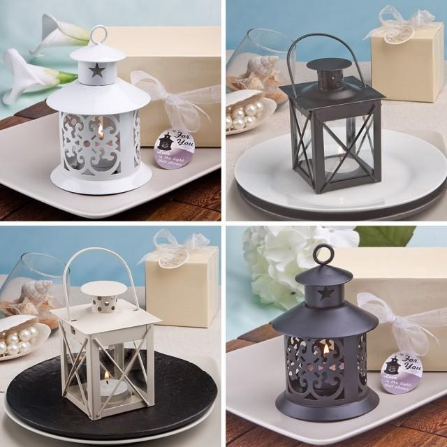 Rustic Wedding Decor 12 Lantern Candle Holders Country Wedding