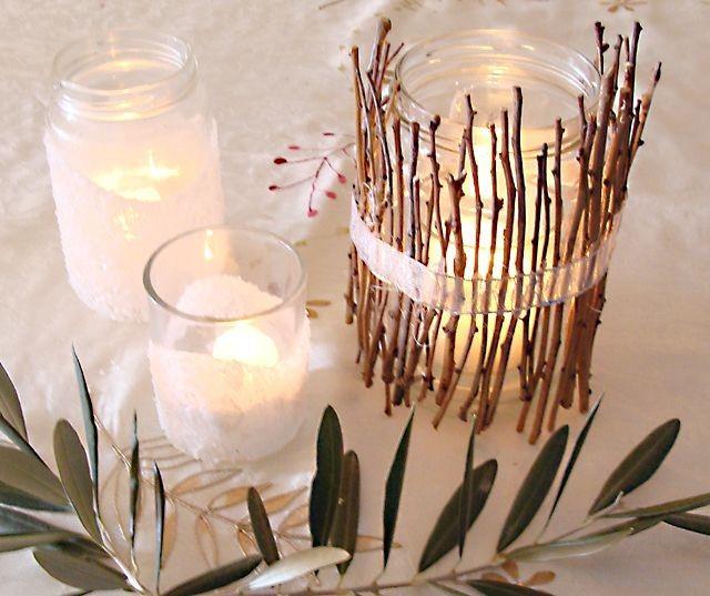 Декоративные ветки для интерьера своими руками