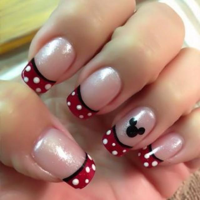 Wedding Theme 9 Simple Disney Nail Art Designs 2410677