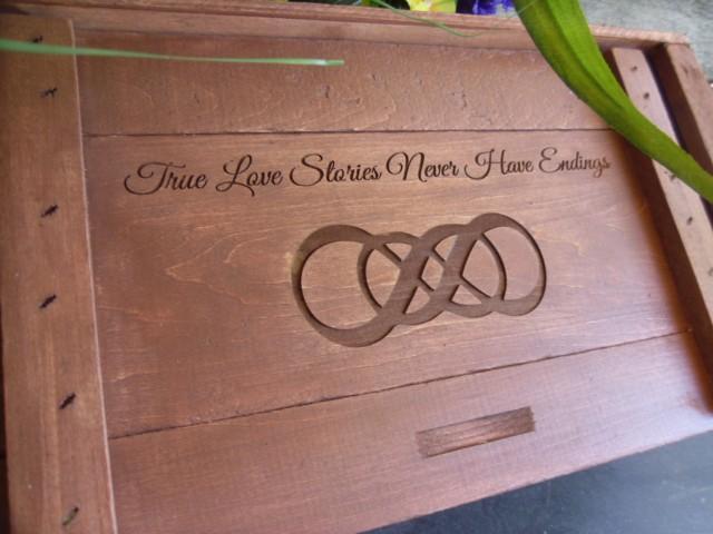 wedding wine box wine box custom wine box engraved wine box love letter box infinity symbol box infinity knot wine box custom 2411192 weddbook