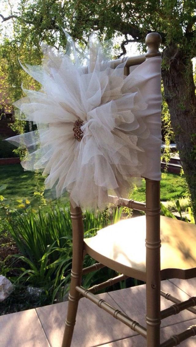 Chair CoversWedding Coverbeautiful Flower