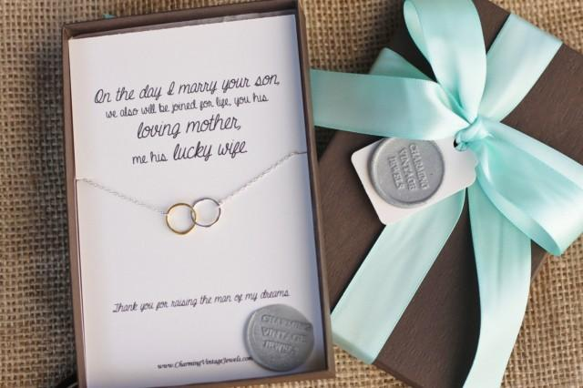 Mother Of The Groom Gift: Future Mother-in-Law, Gift Boxed Pendant, Mother Of The