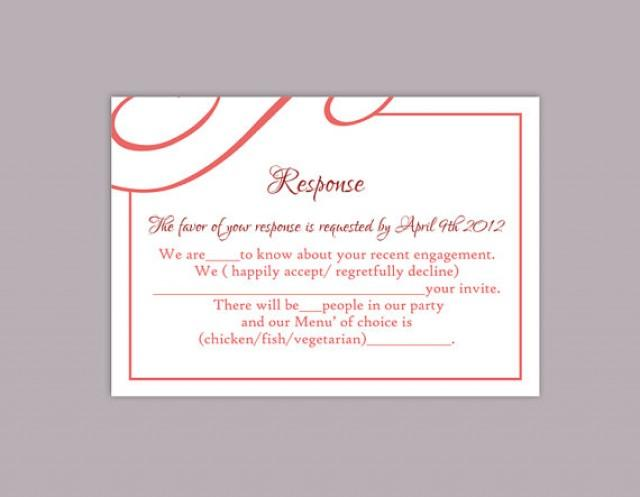 wedding invitation response card wording zoolook me - 28 images ...
