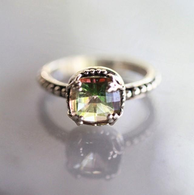 Engagement Ring Wedding Ring Sterling Silver Ring Silver Rings