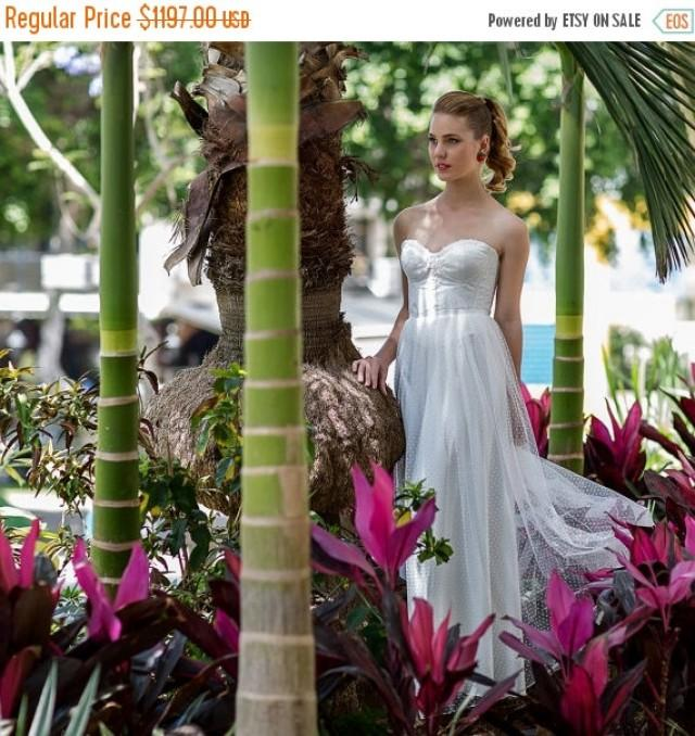 Cyber Monday Sale Elegant Sweetheart Tulle Wedding Dress Lace White Ivory Corset Skirt Gown Lo 2420487