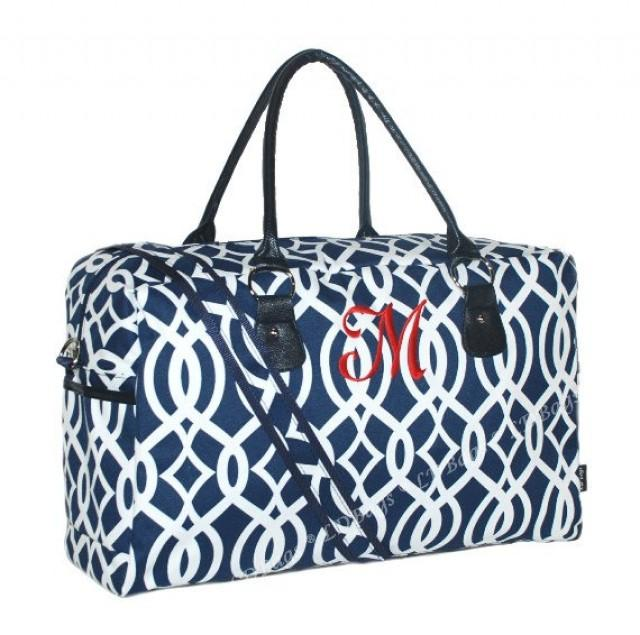 Travel Weekender Overnight Carry On Shoulder Duffel Tote Bag