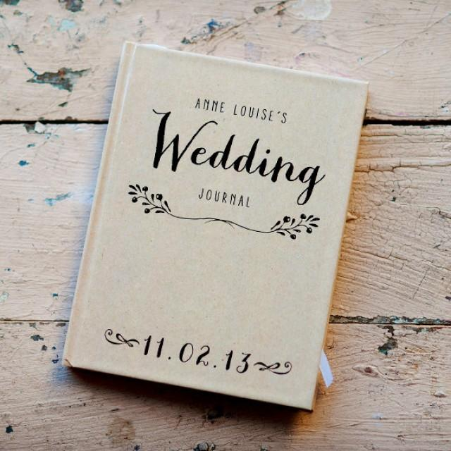 Wedding journal notebook wedding planner personalized wedding journal notebook wedding planner personalized customized wedding date and names custom design bridal shower guest book 2428992 weddbook junglespirit Choice Image