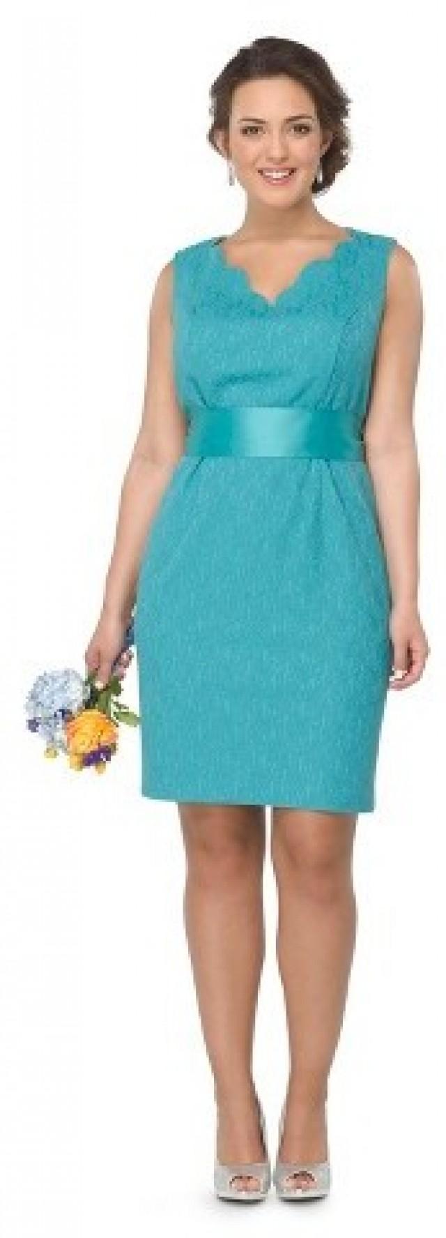 Turquoise Bridesmaid Dresses Plus Size