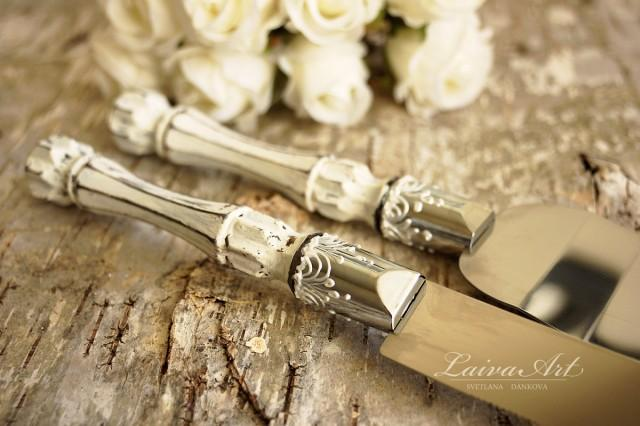 Nautical Wedding Cake Servers