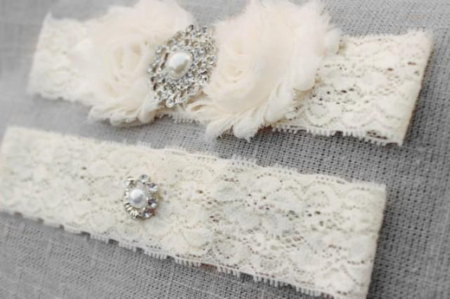 Wedding Garter Set Many Colors Ivory Pearl Lace Bridal Plus Size Garder Accessories White Snowflake 2436406