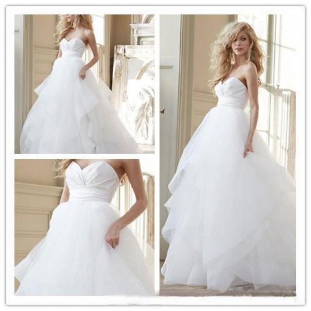 Wedding Gowns Online Cheap: Cheap Hayley Paige Organza Wedding Dresses 2015 Sexy