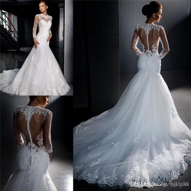 Plus Size Wedding Dresses 2016 New Made Simple Retro Ivory