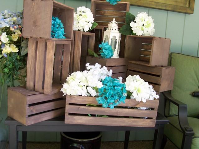 Wedding Centerpiece, Table Center Piece Decoration ,Wood