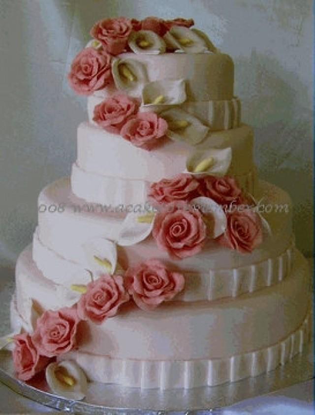 Wedding cakes gumpaste