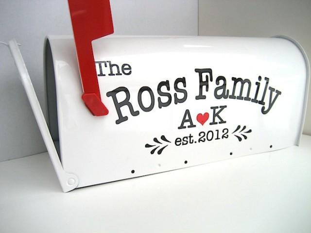 custom wedding card mailbox wedding card box monogrammed letter box wedding reception card box 2440293 weddbook