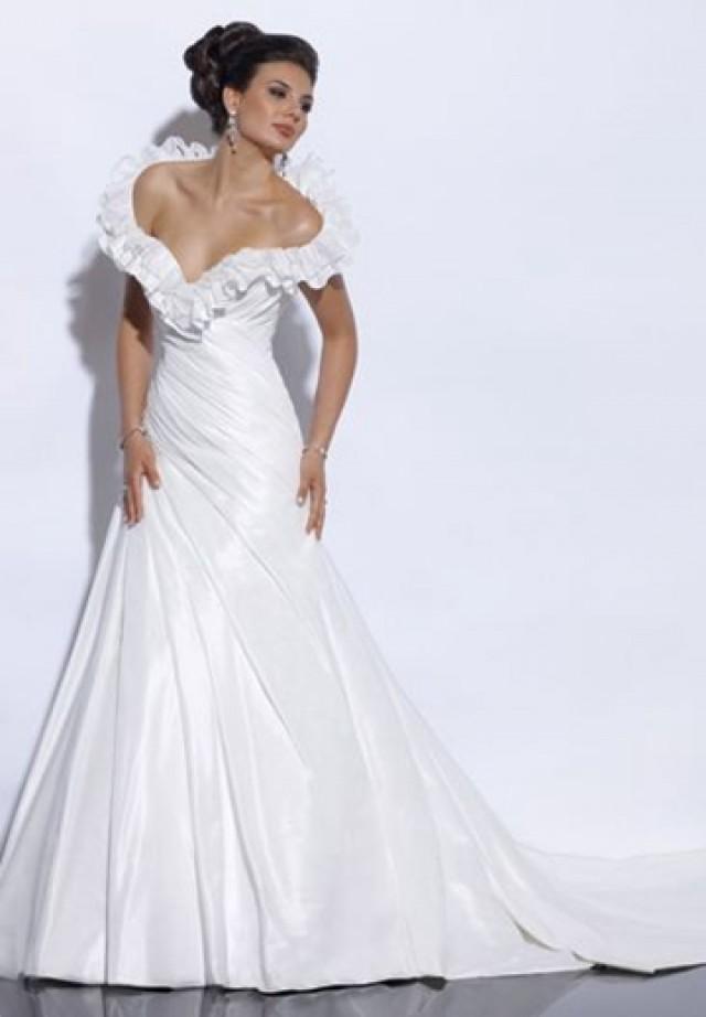 Taffeta off the shoulder sweetheart a line sexy wedding for Off the shoulder taffeta wedding dress