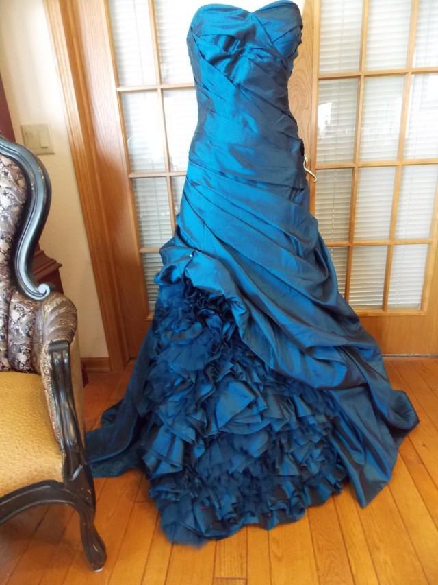 Royal Blue Alternative Wedding Dress Steampunk Perfect #2443779 ...