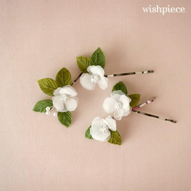 Small Hair Flowers Floral Hair Accessories Wedding Headpiece