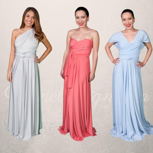 Convertible Bridesmaid Dress Long Formal Infinity