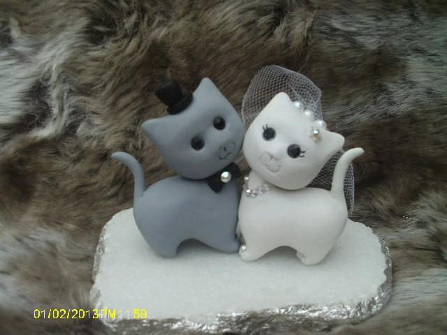 Decor Cat Wedding Cake Topper 2448636 Weddbook