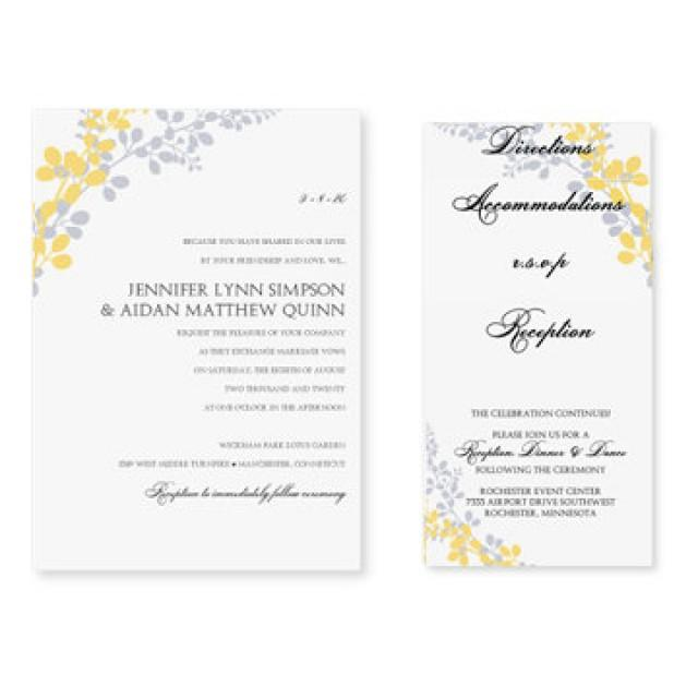 Awesome Wedding Invitation Templates For Word Contemporary Best – Invite Templates Word