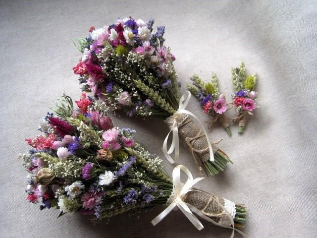Wedding country bouquets set pink purple wedding bouquets rustic wedding country bouquets set pink purple wedding bouquets rustic wedding dried flowers bouquets and buttonholes farm wedding 2450873 weddbook mightylinksfo