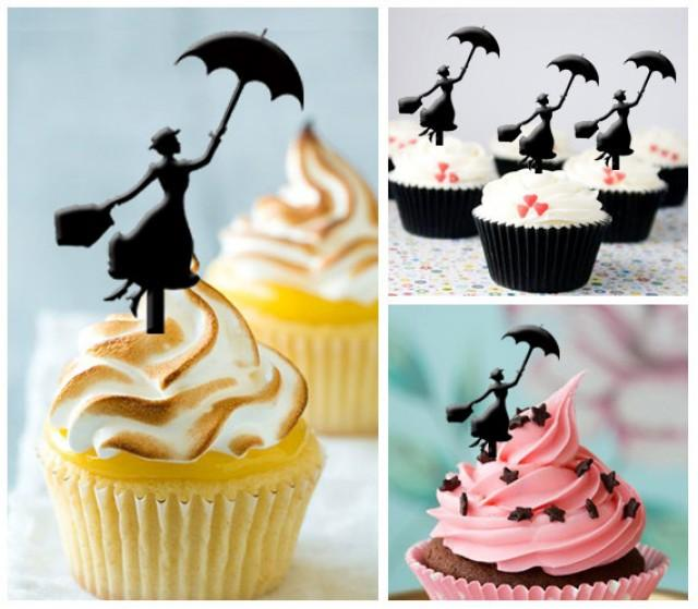 Mary Poppins Wedding Cake Topper