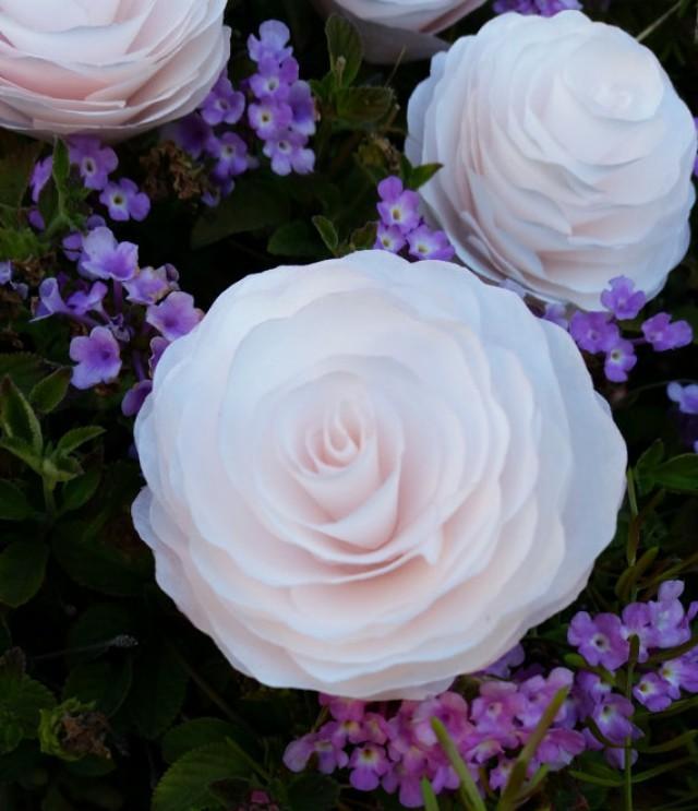 Small Paper Peonies Peony Flowers Peony Fake Flower Decor Home