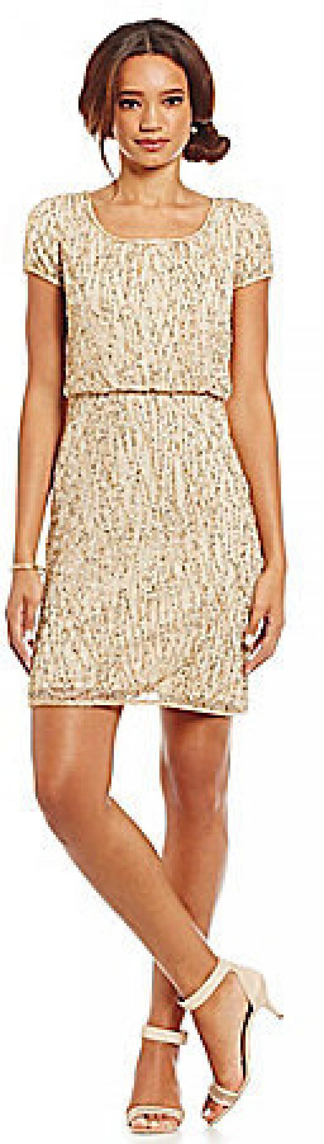 Adrianna Papell Beaded Cap-Sleeve Cocktail Dress #2458029 - Weddbook
