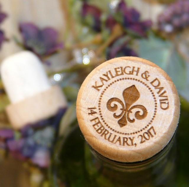 Custom Wine Stopper - Personalized Reusable Wine Cork - Fancy ...