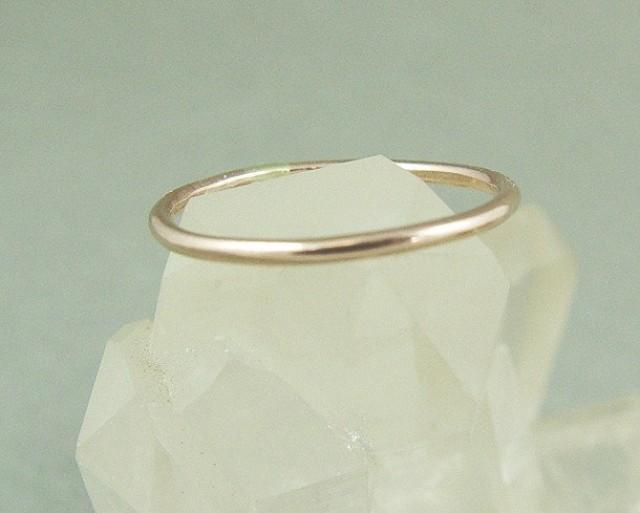 63bfb24c3b237 Gold Skinny Ring / Gold Filled Stacking Ring / Wedding Ring ...