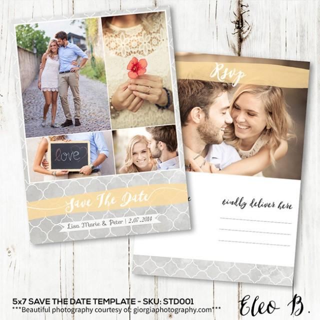 wedding invitations photoshop template