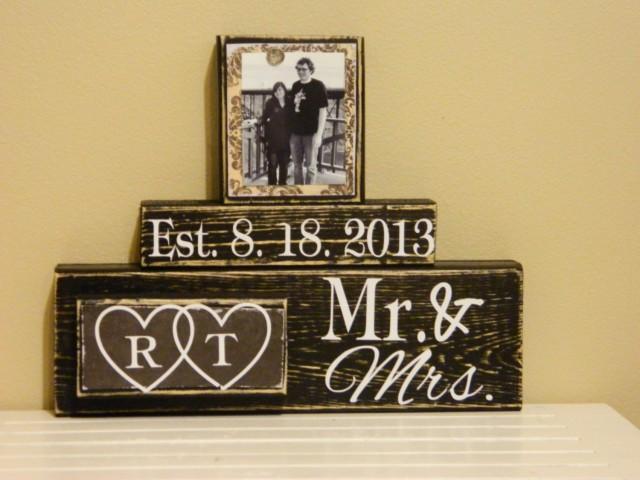 Personalised Wedding Gifts Ideas Anniversary Bridal Shower Engagement Gift Bride 2461143 Weddbook