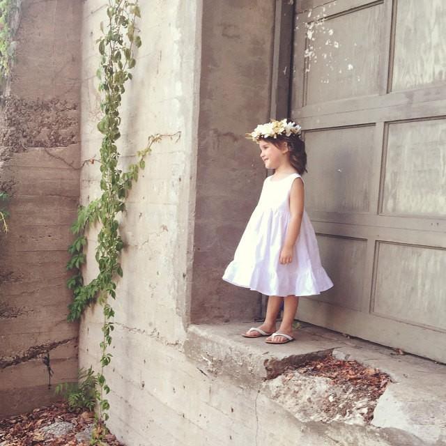 Flower Girl Dress Rustic Flower Girl Dress Boho Flower Girl Dress